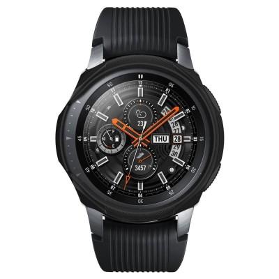 Spigen Θήκη Liquid Air Samsung Galaxy Watch/ Gear S3 Frontier (46mm) - Black (603CS25100)