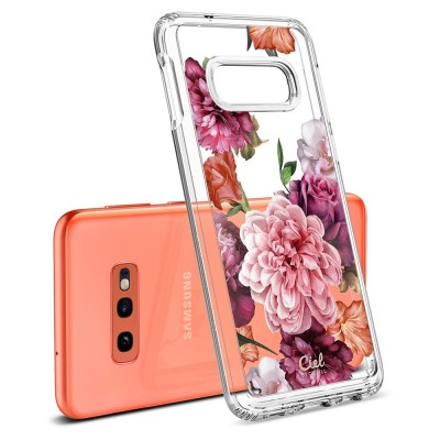 Spigen Galaxy S10+ CYRILL Cecile Rose Floral (609CS25859)