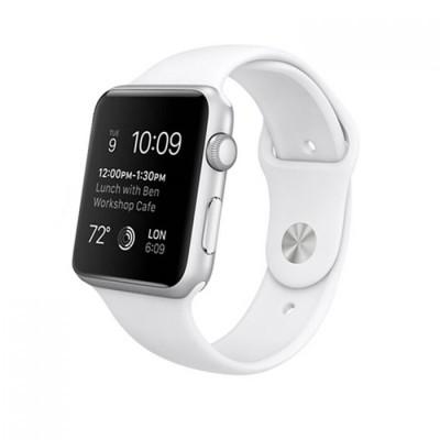 Kakapi Λευκό Silicone Λουράκι Apple Watch 42mm