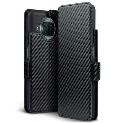 Terrapin Low Profile Θήκη - Πορτοφόλι Carbon Fibre Xiaomi Mi 10T Lite - Black (117-121-008)