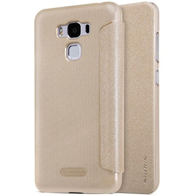 Nillkin Sparkle Flip Case Asus Zenfone 3 Max (ZC520TL) - Gold