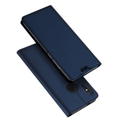 Duxducis SkinPro Flip Θήκη Xiaomi Redmi Note 5 / Redmi Note 5 Pro - Blue