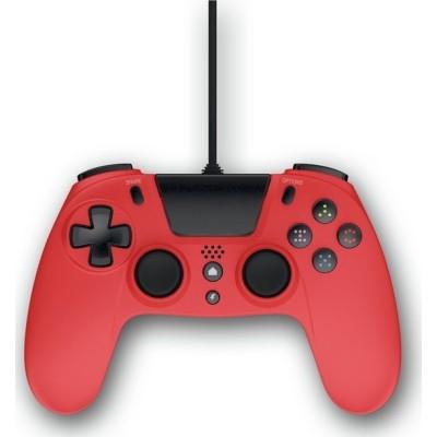 Gioteck Ενσύρματο Χειριστήριο VX4 Για Το Playstation 4 – Κόκκινο (VX4PS4-13-MU)