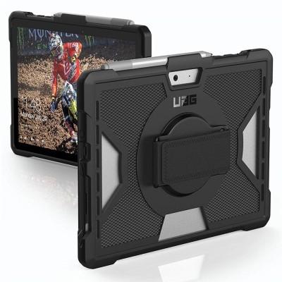 UAG Surface Go Outback w/Handstrap Black (321075B14040)