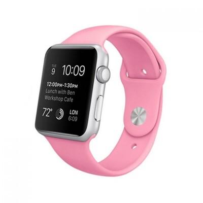 Kakapi Ροζ Silicone Λουράκι Apple Watch 42mm