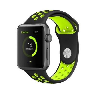 Kakapi Λαχανί Sport Silicone Λουράκι Apple Watch 42mm