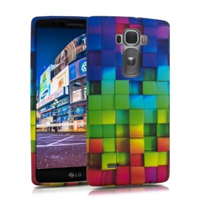 Θήκη Σιλικόνης LG G Flex 2 Rainbow