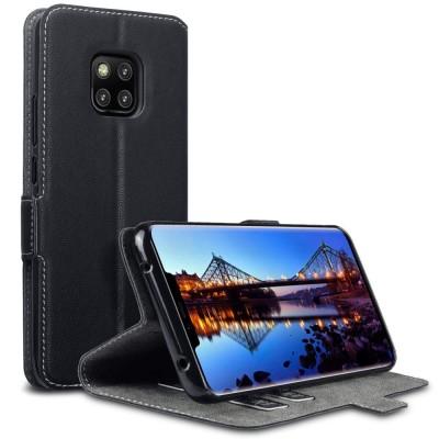 Terrapin Low Profile Θήκη - Πορτοφόλι Huawei Mate 20 Pro - Black