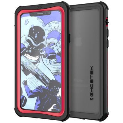 Ghostek Nautical 2 Αδιάβροχη Θήκη iPhone X - Red