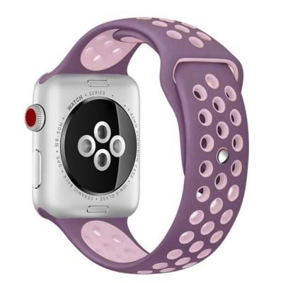 Kakapi Ροζ Sport Silicone Λουράκι Apple Watch 42mm