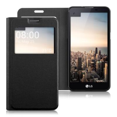Θήκη- πορτοφόλι για LG X Screen by KW μαύρο