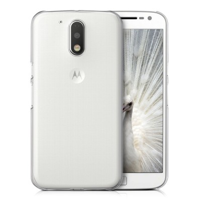 Θήκη σιλικόνης για Motorola Moto G4 / Moto G4 Plus διάφανη by KW