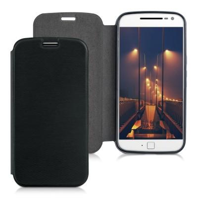 Θήκη για Motorola Moto G4 μαύρη by KW (200-101-625)