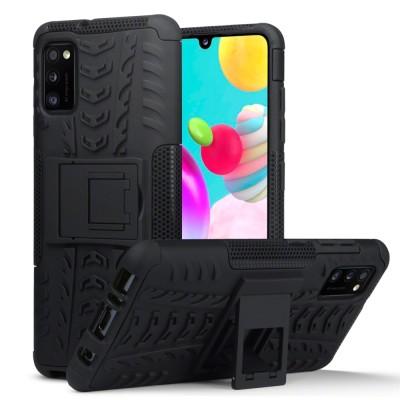 Terrapin Ανθεκτική Θήκη Dual Layer Rugged Samsung Galaxy A41 - Black (131-002-247)
