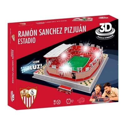3D Puzzle Γήπεδο Ramón Sánchez Pizjuan Sevilla με LED φωτισμό 98 τεμ