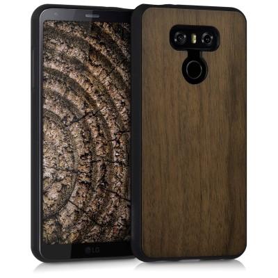 Ξύλινη θήκη για LG G6 καφέ