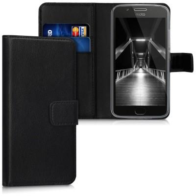 Θήκη-Πορτοφόλι για Motorola Moto G5 μαύρη