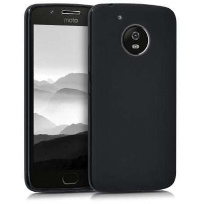 Θήκη σιλικόνης μαύρη για Motorola Moto G5