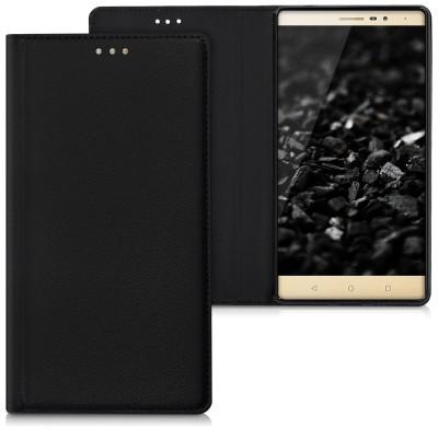 Θήκη-πορτοφόλι για Lenovo Phab2 μαύρη