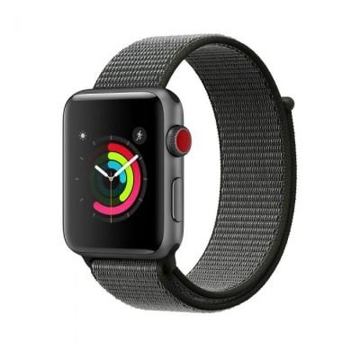 Tech-Protect Nylon Strap Dark Olive Λουράκι Apple Watch 42/44mm