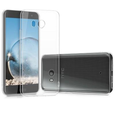 Διάφανη θήκη σιλικόνης για HTC U11