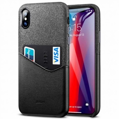 ESR iPhone Xs Max Metro Wallet Case Black