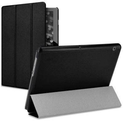 KW Ultra Slim Cover - Θήκη Flip για Huawei MediaPad T3 10 - Black (200-107-218)