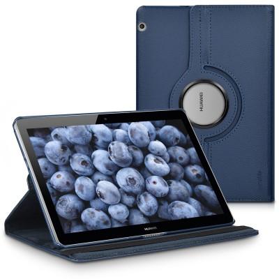 Θήκη-smart cover με stand 360° για Huawei MediaPad T3 10 μπλε by KW (200-105-624)