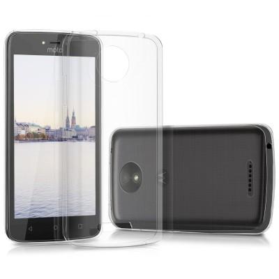 Θήκη σιλικόνης διάφανη για Motorola Moto C Plus