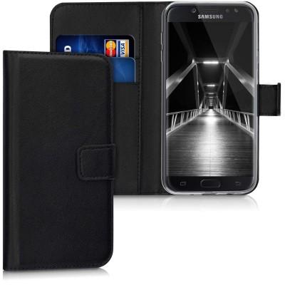 Θήκη-Πορτοφόλι για Samsung Galaxy J7(2017) μαύρο