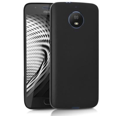 Μαύρη Θήκη σιλικόνης για Motorola Moto G5S by KW