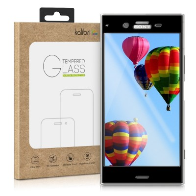 Kalibri Tempered Glass - Αντιχαρακτικό Γυαλί Οθόνης Sony Xperia XZ1 - Black Frame (200-104-237)