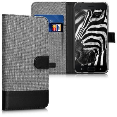 Θήκη Πορτοφόλι για Asus Zenfone 4 Pro (ZS551KL) γκρι