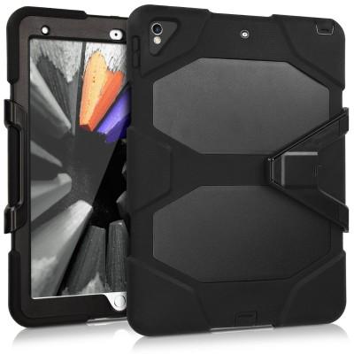 """Ανθεκτική Θήκη Hybrid Survive για iPad Pro 10.5"""" με stand μαύρη"""