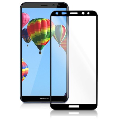 Full Cover Tempered Glass μαύρο για Huawei Mate 10 Lite by KW