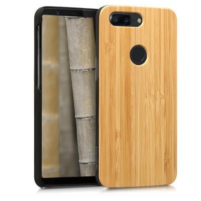 Ξύλινη θήκη από Bamboo για OnePlus 5T by KW