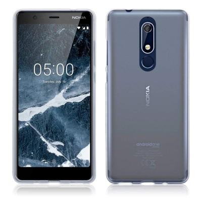 Terrapin Θήκη Σιλικόνης Nokia 5.1 - Clear (118-001-267)