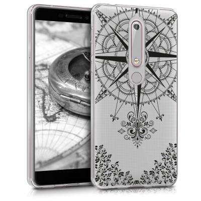 Θήκη σιλικόνης Compass για Nokia 6 (2018)