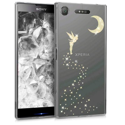 Θήκη σιλικόνης διάφανη Fairy για Sony Xperia XZ1 by KW