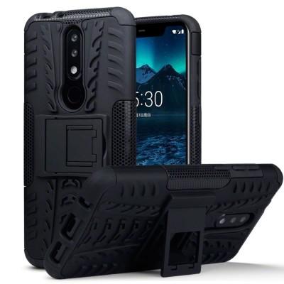 Terrapin Ανθεκτική Θήκη Nokia 5.1 Plus - Black