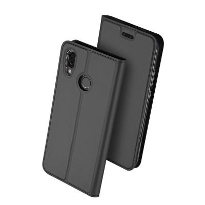 Duxducis SkinPro Flip Θήκη Huawei P20 Lite - Gray
