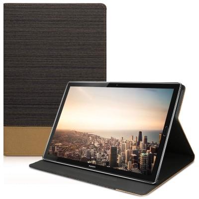 Θήκη-smart cover με stand για Huawei MediaPad Μ5 10 καφέ by KW (44419.01)