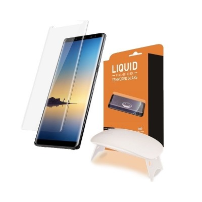 T-MAX Liquid Full Glue 3D Tempered Glass - Σύστημα προστασίας οθόνης Samsung Galaxy Note 8 (44507)
