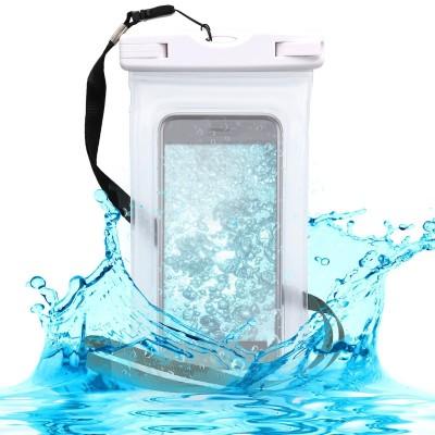 KW Universal Αδιάβροχη Θήκη Πουγκί για Smartphones έως 5.5'' White