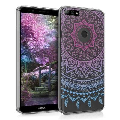 Ημιδιάφανη Θήκη σιλικόνης Indian Sun για Huawei Y7 (2018)/Y7 Prime (2018)
