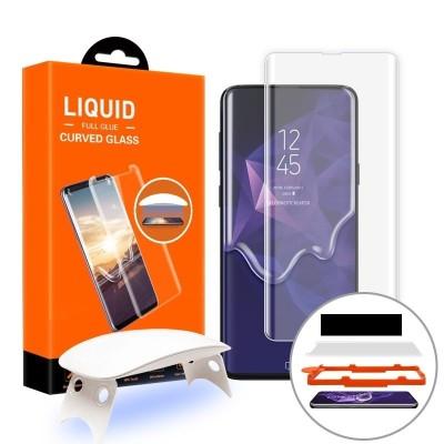 T-MAX Full Glue 3D Tempered Glass - Σύστημα εγκατάστασης Samsung Galaxy S10 (44862)