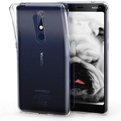 Θήκη σιλικόνης διάφανη για Nokia 5.1