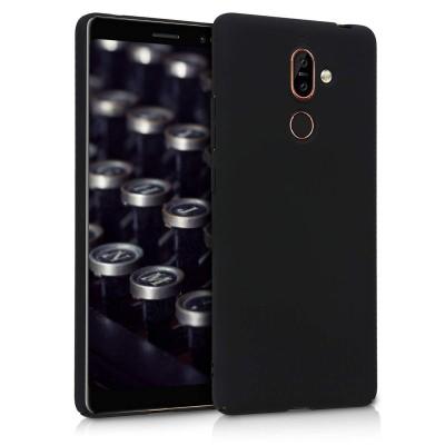 Θήκη για Nokia 7 Plus σκληρή μαύρη