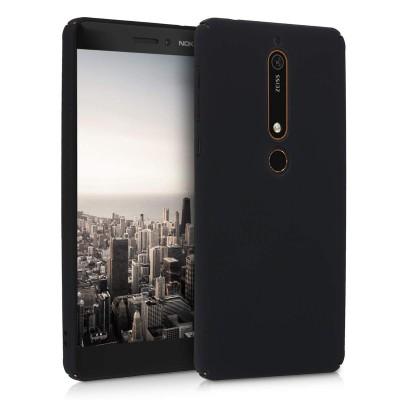 Θήκη για Nokia 6(2018) σκληρή μαύρη by KW