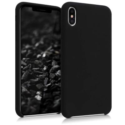 Θήκη σιλικόνης μαύρη για iPhone XS Max